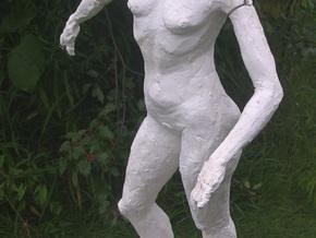 Standing Nude II in White Natural Versatile Plastic