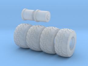 Zetros Secutor Reifen Set in Smooth Fine Detail Plastic