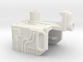 Super Jet Combiner Port in White Natural Versatile Plastic
