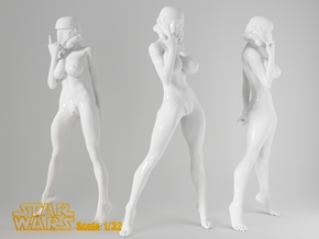 1:32 Star War sexy girl-006 in Frosted Ultra Detail