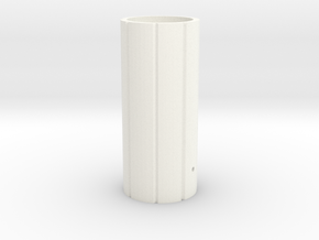 Mhs Hilt Sleeve Version 3 Mk1 in White Processed Versatile Plastic