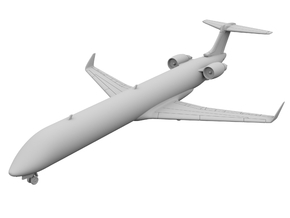 1:400 - CRJ_1000 in Smooth Fine Detail Plastic
