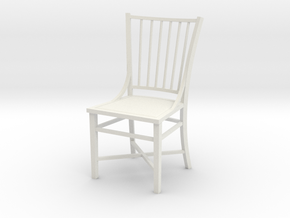 1:24 French Country Chair in White Natural Versatile Plastic