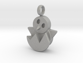 Hatching Chick Emoji Charm in Aluminum
