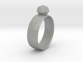 Gem Ring in Aluminum