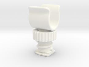 DSLR Hot Shoe Mount in White Processed Versatile Plastic