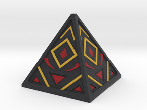 Sith Holocron 3 (full color) in Full Color Sandstone