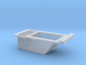 F-M Single Track Pit HO in Smooth Fine Detail Plastic