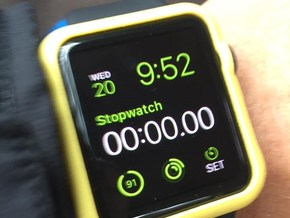 Apple Watch Bumper (42mm) in Yellow Strong & Flexible Polished