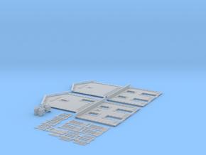 NGPLM20 Modular PLM train station in Smooth Fine Detail Plastic