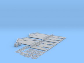 NGPLM21 Modular PLM train station in Smooth Fine Detail Plastic