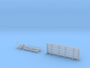 NGPLM26 Modular PLM train station in Smoothest Fine Detail Plastic