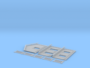 NGPLM51 Modular PLM train station in Smooth Fine Detail Plastic