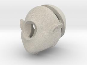 bjd doll head 1 in Natural Sandstone