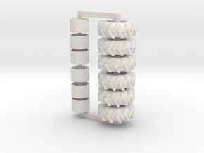 3sets Of 24.5-32s in White Natural Versatile Plastic