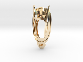 Lens of Harmony in 14K Gold