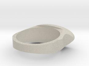 Ring Model 2 18.5mm in Natural Sandstone