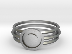 Vault Dweller's ring in Natural Silver: 6 / 51.5