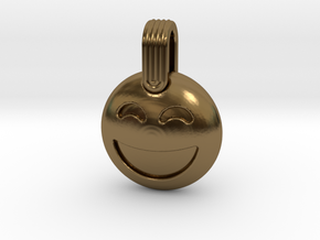 LOL in Polished Bronze