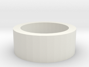 Blaster Led PCB Support Ring in White Natural Versatile Plastic