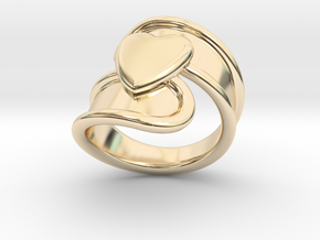Valentinodayring  17 - Italian Size 17 in 14K Yellow Gold