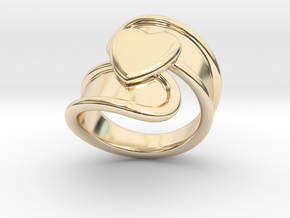 Valentinodayring  19 - Italian Size 19 in 14k Gold Plated