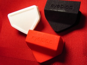 Eyebloc Webcam Privacy Shield in White Strong & Flexible