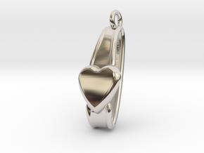 San Valentino Earring in Platinum