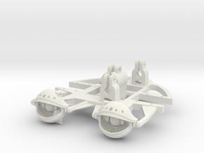 Eye Rig 28mm in White Natural Versatile Plastic