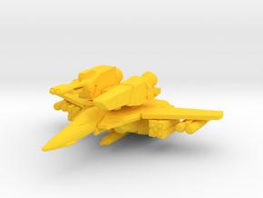 VF-1S Strike 1/350 in Yellow Processed Versatile Plastic