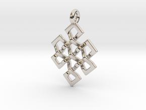 Eternal Knot in Platinum