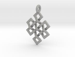 Eternal Knot in Aluminum