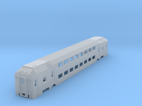NJ Transit MultiLevel Coach N Scale in Smooth Fine Detail Plastic