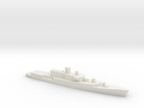 ITS Bergamini-Class Frigate (1961), 1/1800 in White Natural Versatile Plastic