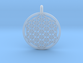 Flower Of Life in Frosted Extreme Detail