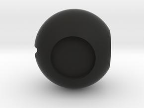 Dc3,C47 Throttle Knob in Black Natural Versatile Plastic