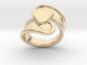Valentinodayring  21 - Italian Size 21 in 14K Yellow Gold