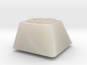 Topre row E - Zerg symbol in White Acrylic