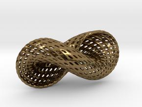 Spiral in Polished Bronze