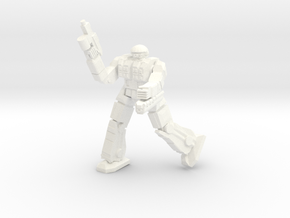 Celt Pose 3 in White Strong & Flexible Polished