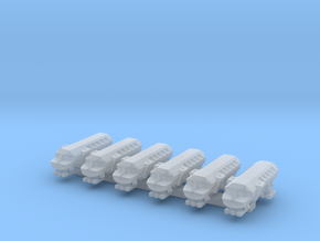 1/1000 Scale Moonbus Standard Size in Smooth Fine Detail Plastic
