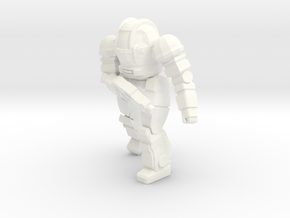Ogre Mk II Pose 2 in White Strong & Flexible Polished