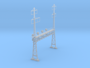 CATENARY PRR LATTICE SIG 4 TRACK 2-3PHASE N SCALE  in Smooth Fine Detail Plastic