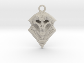 BORO pendant  in Natural Sandstone