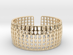 LOKA cuff  in 14K Yellow Gold
