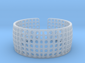 LOKA cuff  in Smooth Fine Detail Plastic