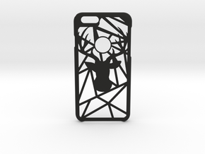GeoDeer iPhone 6 6s case in Black Natural Versatile Plastic