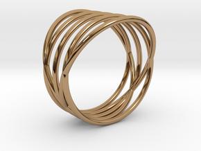 EMI Ring Nº2 in Polished Brass
