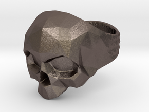 Polygonal Skull Ring Bynachoriesco US10Size in Stainless Steel