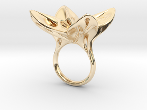 HelixRing USsize 5 in 14K Yellow Gold